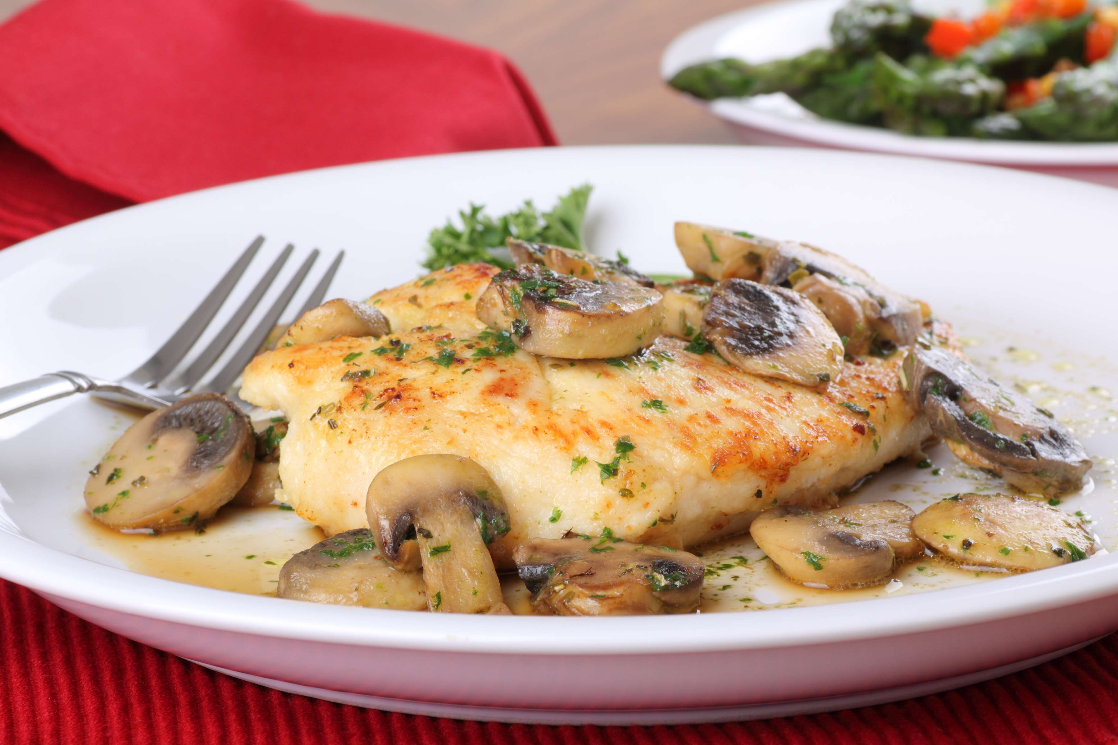 Chicken Breasts With Mushroom Sauce Recipe | CHEFBear.net