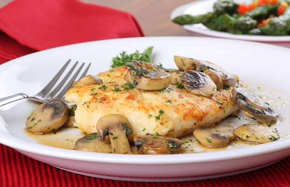 Orginal Recipe For Chicken Breasts With Mushroom Sauce - easy American recipe easy Chicken recipe