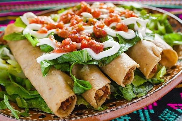 RecipeSavants - Chicken Flautas