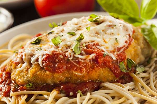 Orginal Recipe For Chicken Parmesan - easy Mediterranean recipe easy Chicken recipe