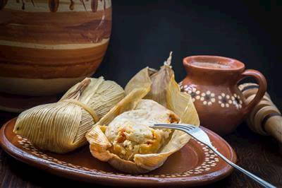 Chicken Tamales With Tomatillo Cilantro Sauce Recipe