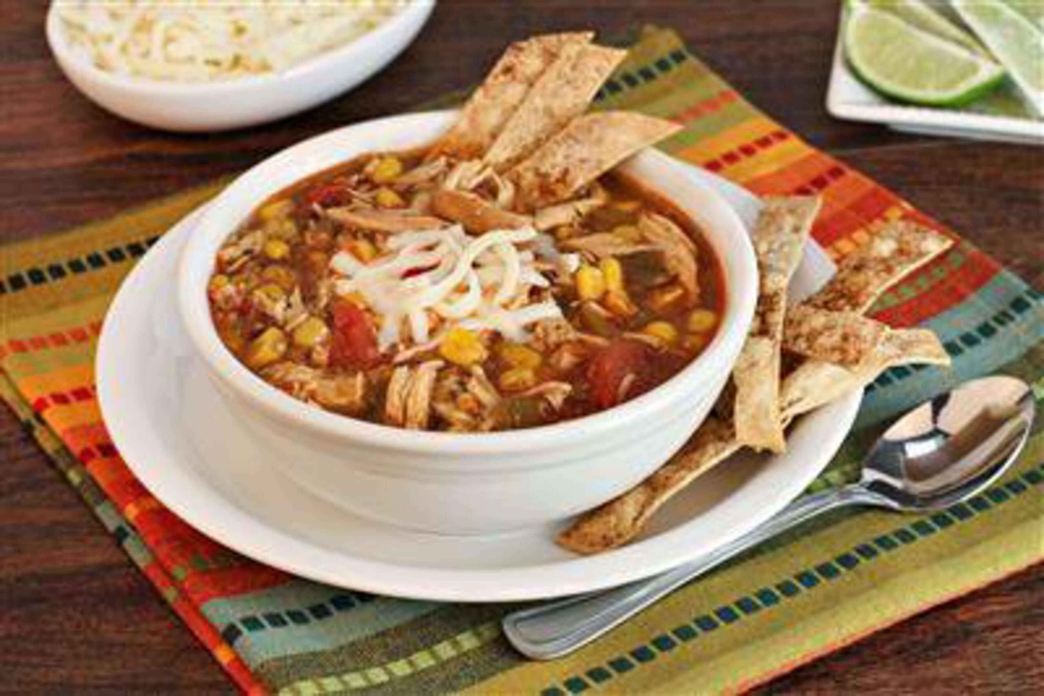 Chicken Tortilla Soup Recipe | RecipeSavants.com