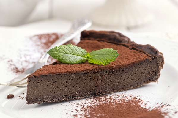 Chocolate Bourbon Tart Recipe