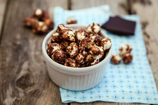 Chocolate Sea Salt Popcorn Recipe