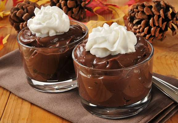 Chocolate Stout Pudding With Beer Whipped Cream Recipe
