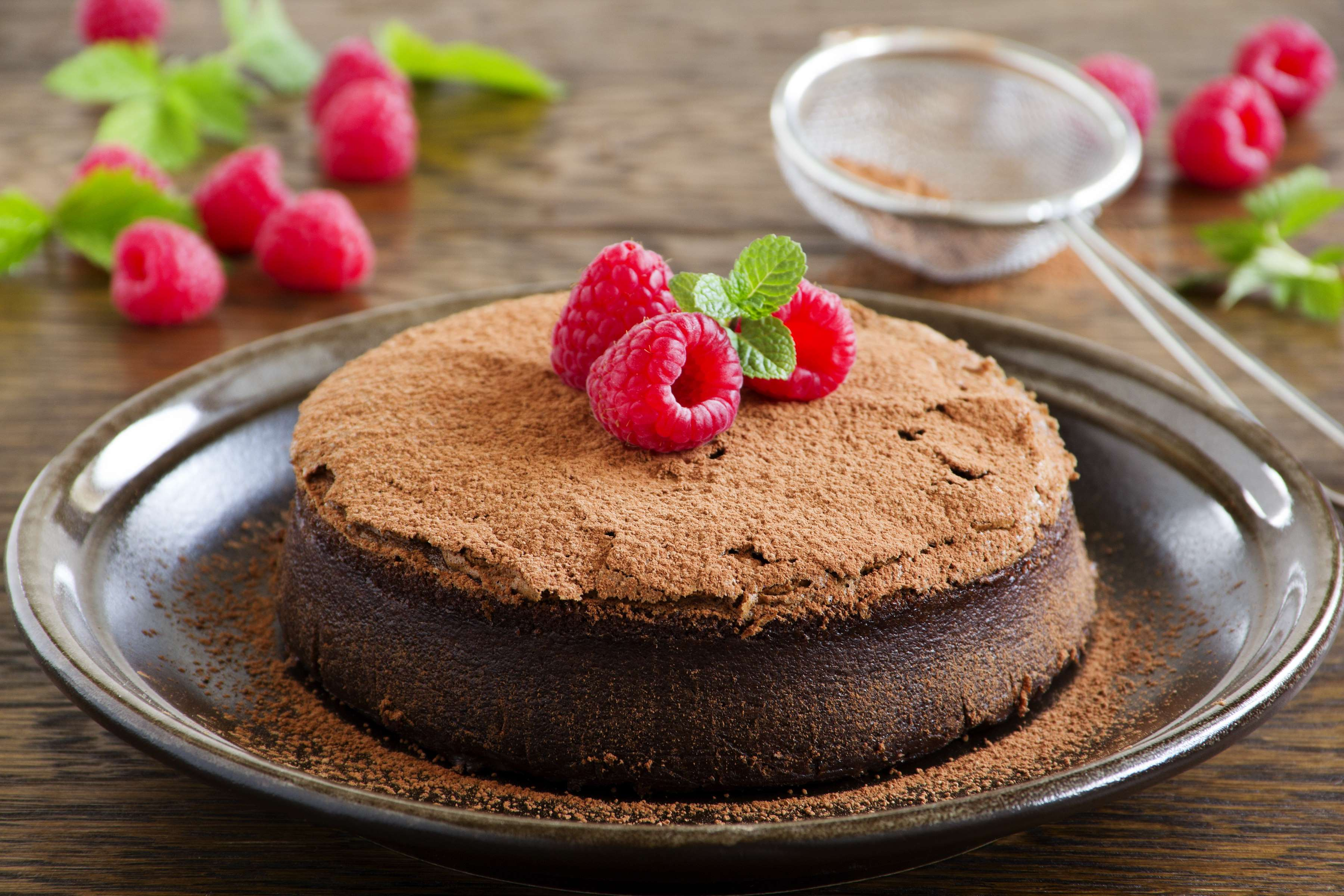 Chocolate Truffle Tort Recipe | RecipeSavants.com