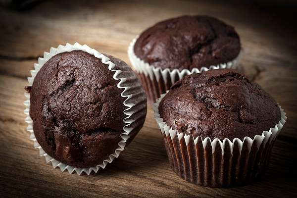 Chocolaty Spinach Muffins Recipe