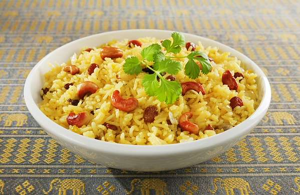 Cinnamon Basmati Rice With Golden Raisins Recipe