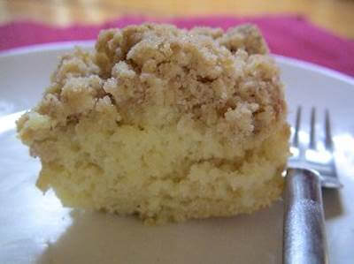 Cinnamon Crumble Coffee Cake Recipe