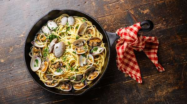ChefBear Complete Meals - clams & linguine