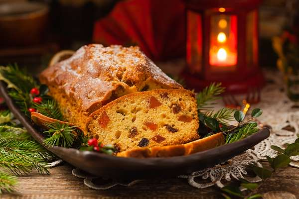 Classic Holiday Fruitcake Recipe