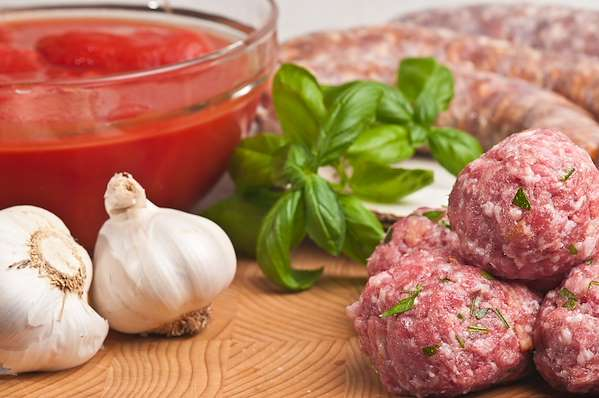 Confident Kitchen Meal Plans - Classic Homemade Sausage Meatballs