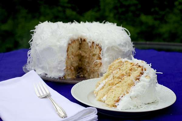 Coconut Meringue Cake Recipe
