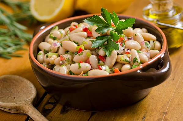 Cold Provencal White Bean Salad Recipe