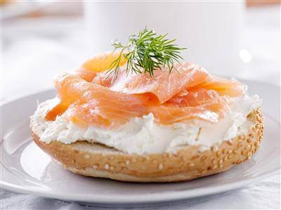 Cream Cheese & Lox Sandwich Recipe