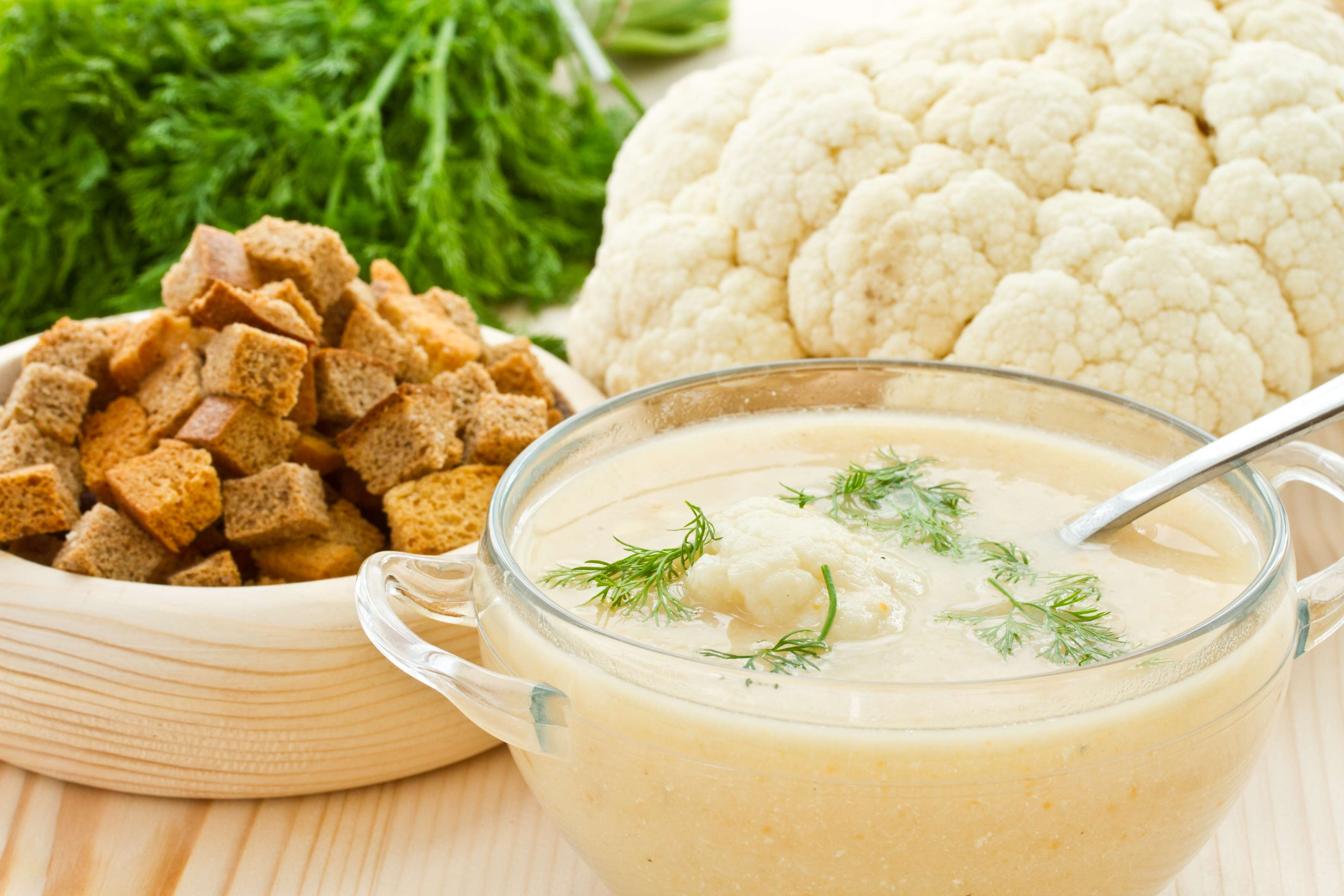 Creamed Cauliflower And Cheese Soup Recipe