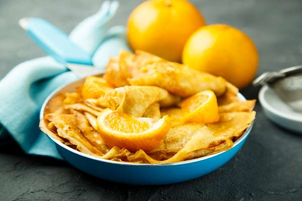 RecipeSavants - Recipe of the Day Crepes Suzette