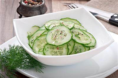Cucumber & Onion Salad Recipe
