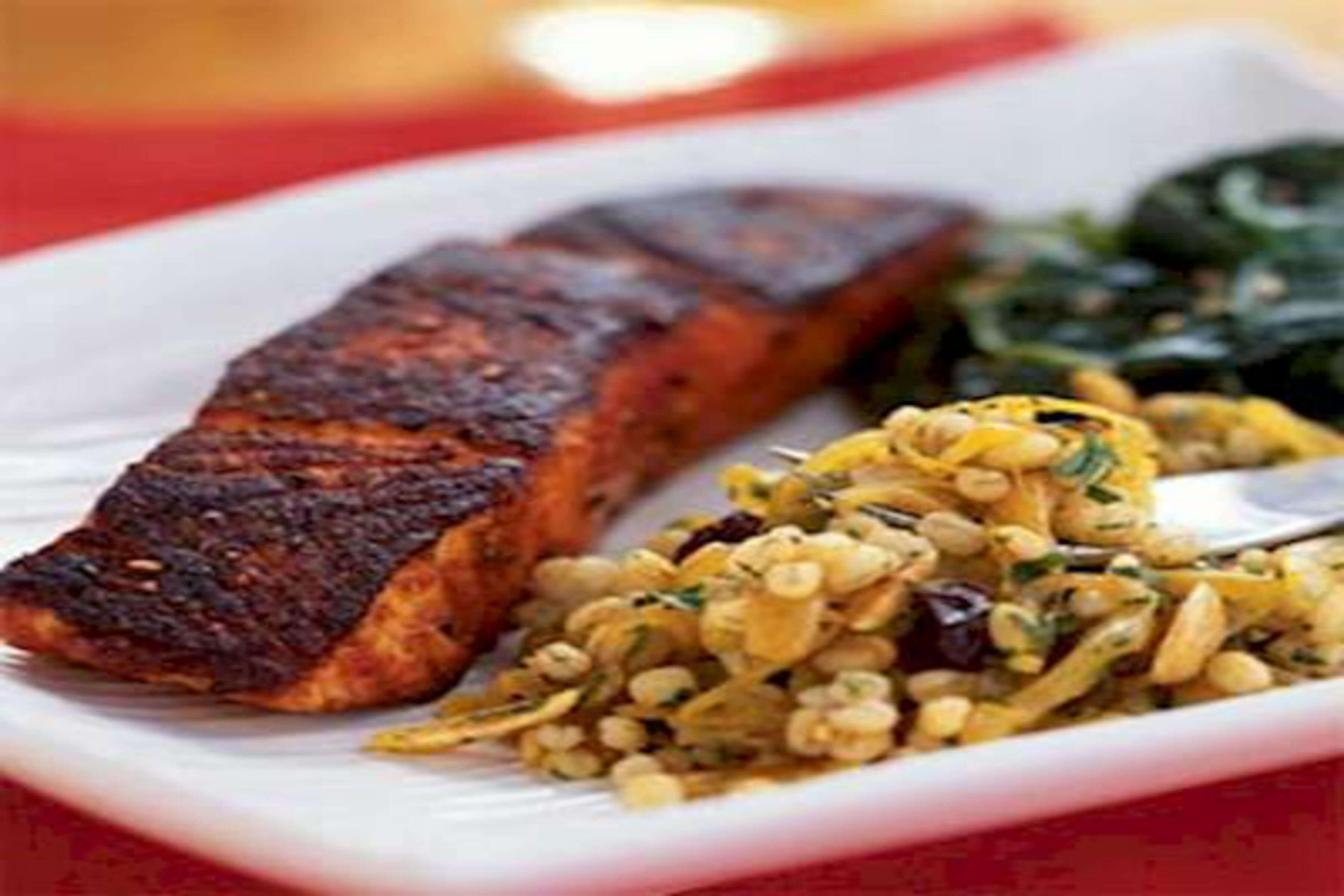 Cumin-Dusted Salmon Fillets Recipe