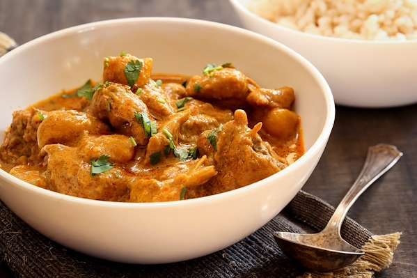 Curry Chicken Thighs Recipe