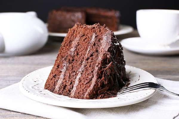 ChefBear Complete Meals - dairy-free frosted chocolate cake