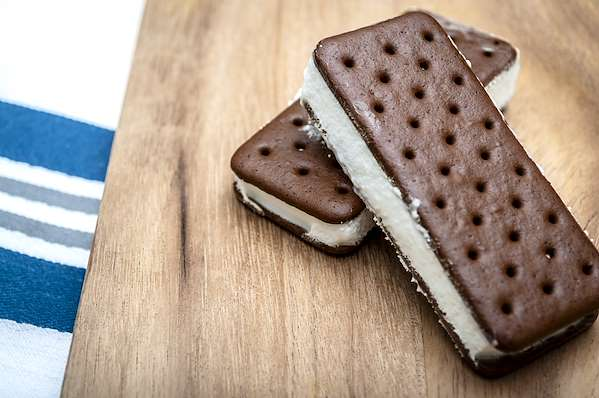 Dark Chocolate Ice Cream Sandwiches Recipe