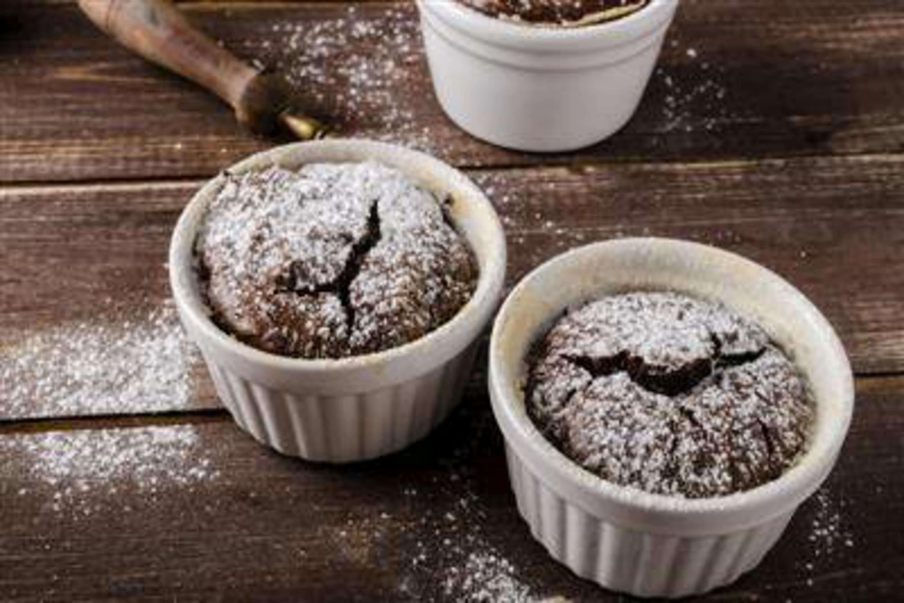 Dark Chocolate Soufflé Recipe