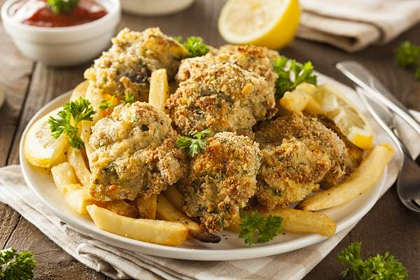 Deep-Fried Oysters & Hot Dipping Sauce Recipe