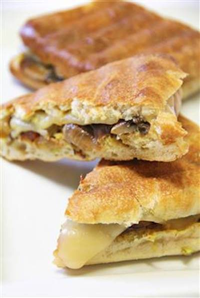 Deluxe Swiss Panini Recipe