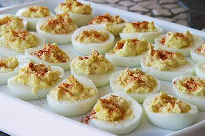 ChefBear Complete Meals - deviled eggs