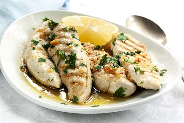 Orginal Recipe For Divine Lemon Chicken - easy American recipe easy Chicken recipe
