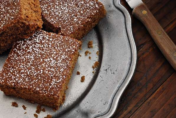 Double Gingerbread With Lemon Curd Recipe