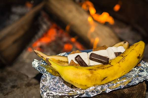 Easy Banana Smores Recipe