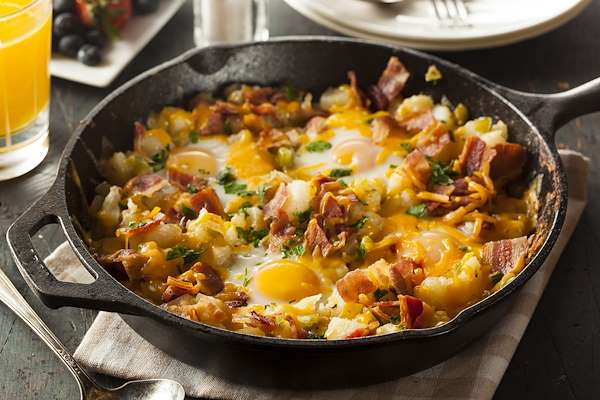 Easy Breakfast Skillet Recipe