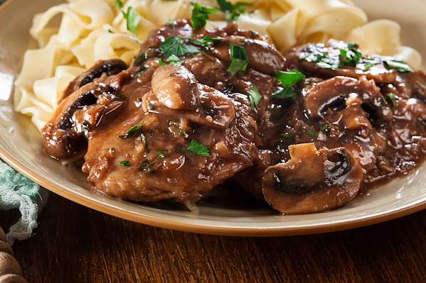 ChefBear Complete Meals - easy chicken marsala