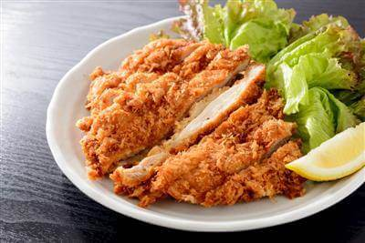 Easy Fried Chicken Breasts For Salad Recipe