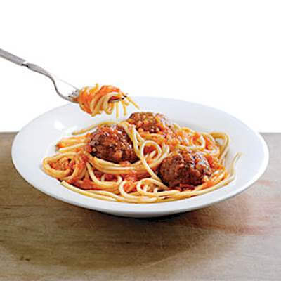 Easy Spaghetti & Meatballs Recipe