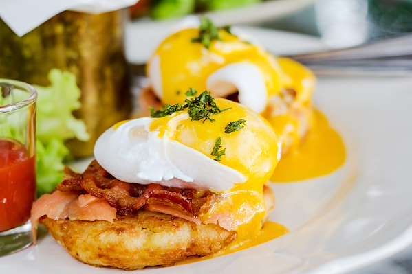 Orginal Recipe For Eggs Benedict - easy American recipe easy Eggs,Pork recipe