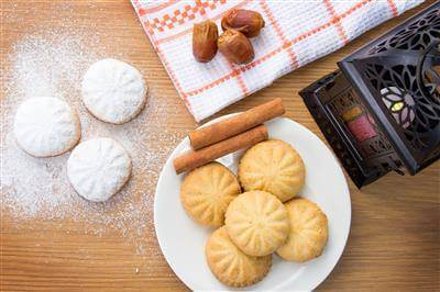 Egyptian Eid Cookies Recipe