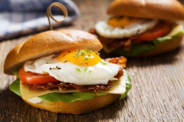 Farmhouse Garden Breakfast Sandwich Recipe