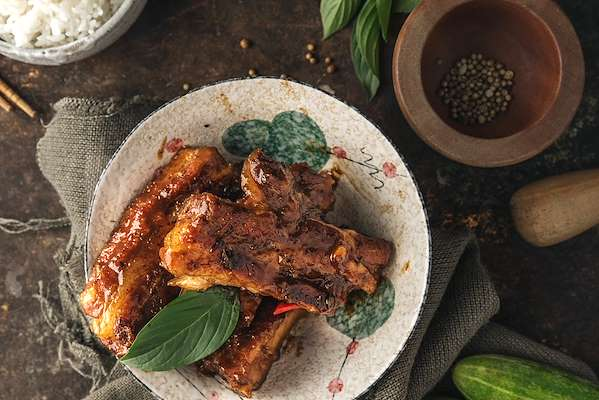 Five Spice Crockpot Pork Ribs Recipe