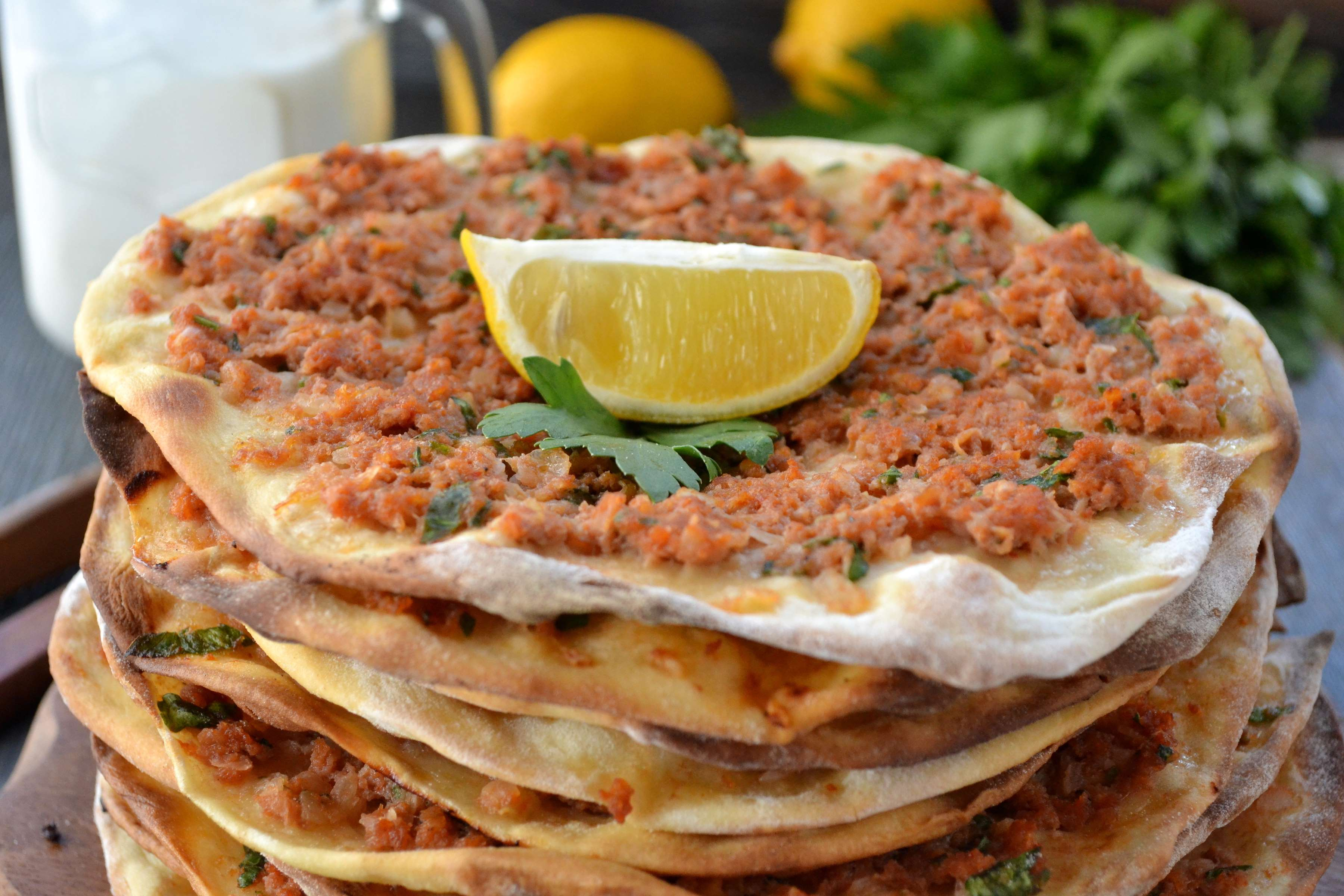 Savory Lamb Flatbreads Recipe | RecipeSavants.com