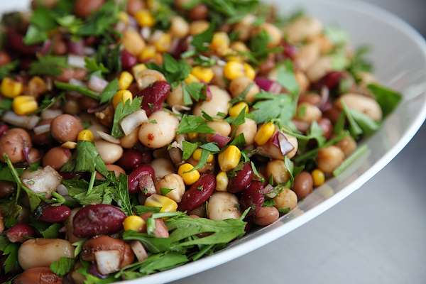 Flavorful Five Bean Salad Recipe