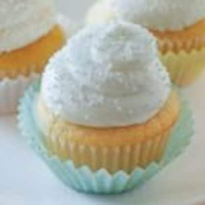 Frosted Vanilla Cupcakes Recipe