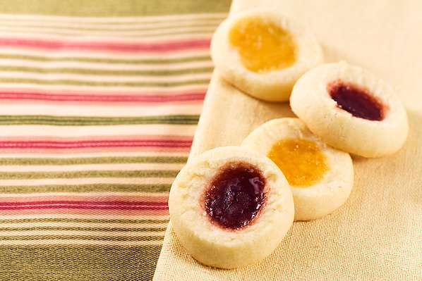 ChefBear Complete Meals - fruity thumbprint cookies
