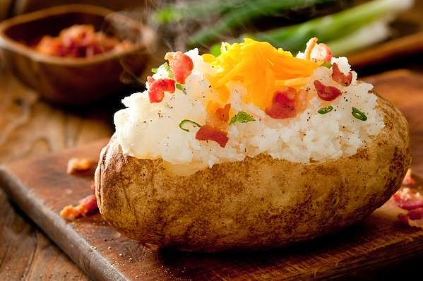 RecipeSavants - Fully Loaded Baked Potato
