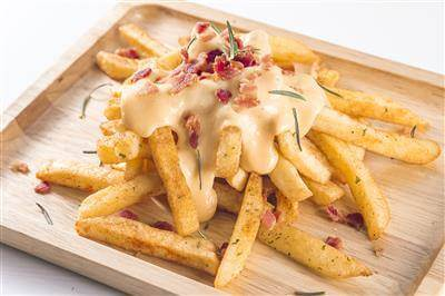 Fully Loaded Fries With Bacon, Cheddar, & Ranch Recipe