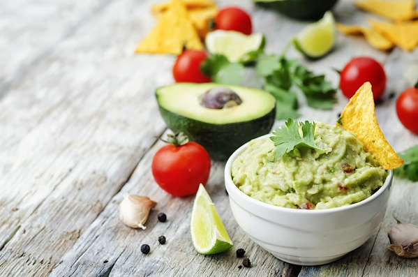 Garlic Guacamole Recipe