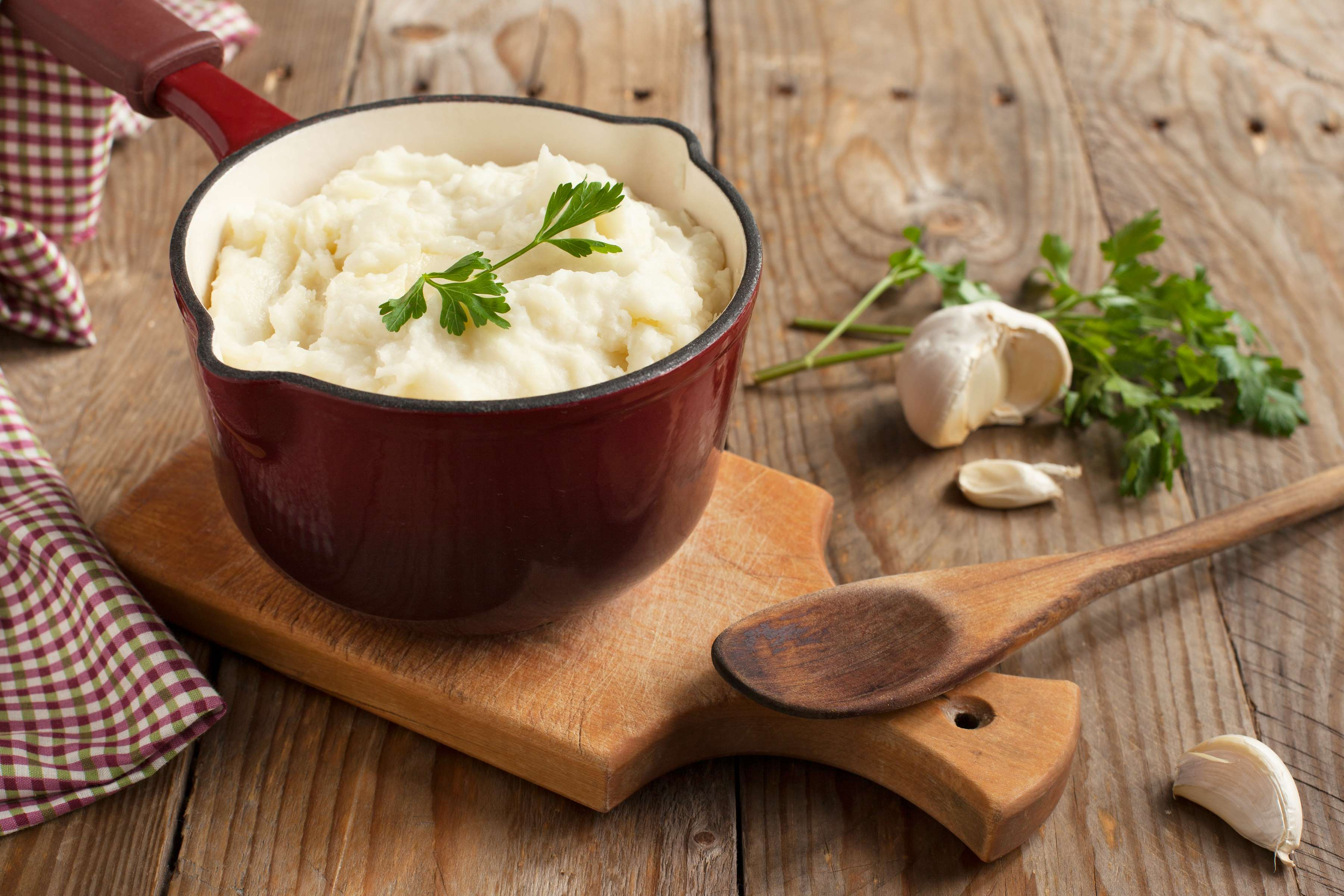 Sour Cream And Garlic Mashed Potatoes Recipe