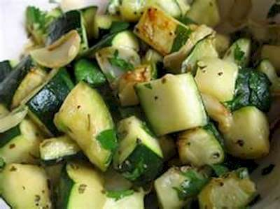 Garlic Zucchini Recipe